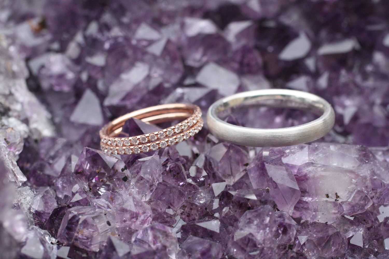 Rose+Gold+Pave+Diamond+Eternity+Band+and+Brushed+SS+Wedding+Band_04.jpg