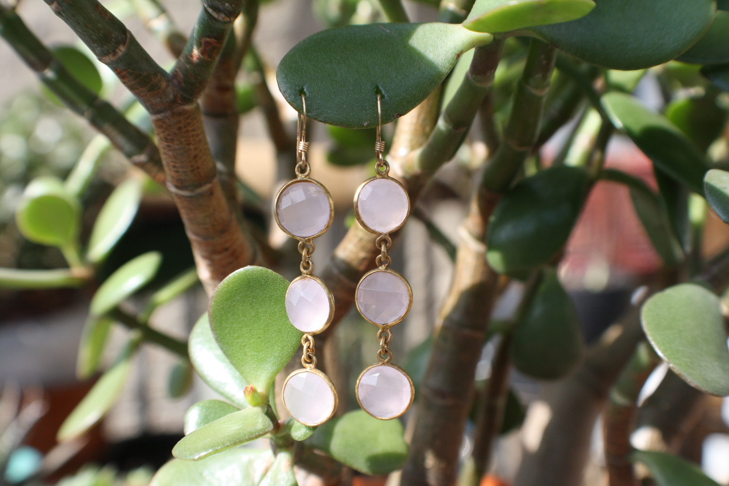Triple+Rose+Quartz+and+Gold+Plated+SS+Earrings+with+GF+earwire09.jpg
