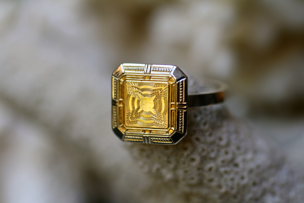 Etched+Square+&+Diamond+Two+Toned+SS+&+GF+-+Cufflinks+to+Rings_05.jpg