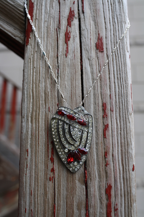 Red+Rhinestone+Shield+Shaped+Brooch+Pendant+SS+Vintage+Inspired+Chain+VCON+Necklace_02.jpg