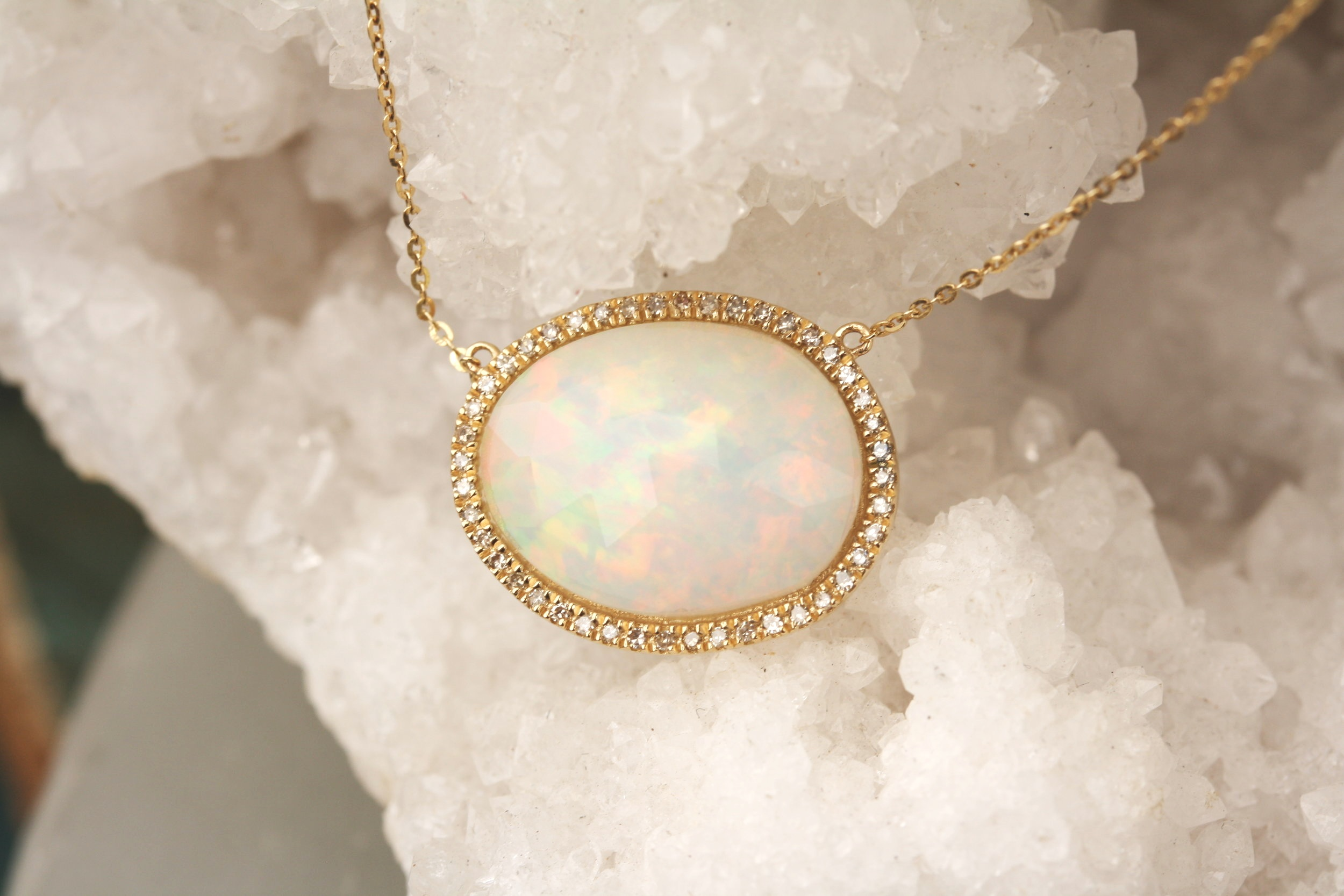 Opal with Pave Diamond Halo YG Necklace_17.JPG