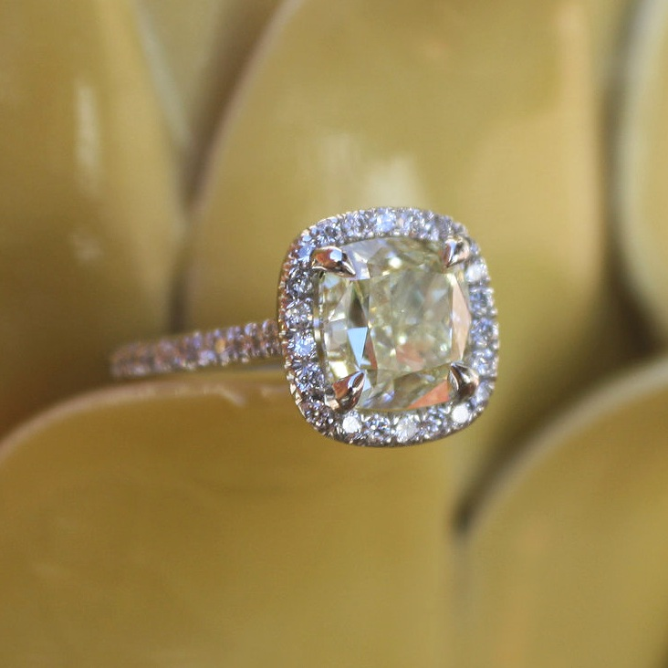 Janay+&+Nelson+Heinrichs+Custom+Natural+Canary+Engagament+Ring+set+in+Platinum+with+Platinum+Wedding+Band+&+Diamond+Halo_91.jpg