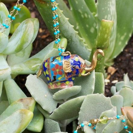 Enamel+Multi+Color+Brass+Elephant+on+SBT+BC+Necklace_02.jpg