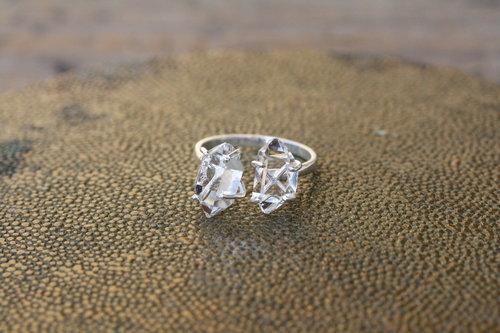 Ring+Split+Shank+Organic+Herkimer+Diamond+Quartz+Sterling+Silver_07.jpg