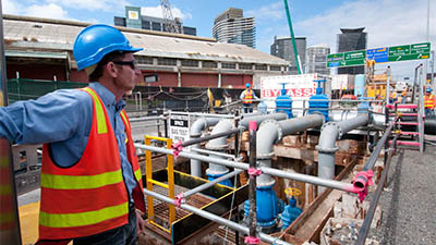 Dale Anderson - Project Site Manager, Melbourne Operations