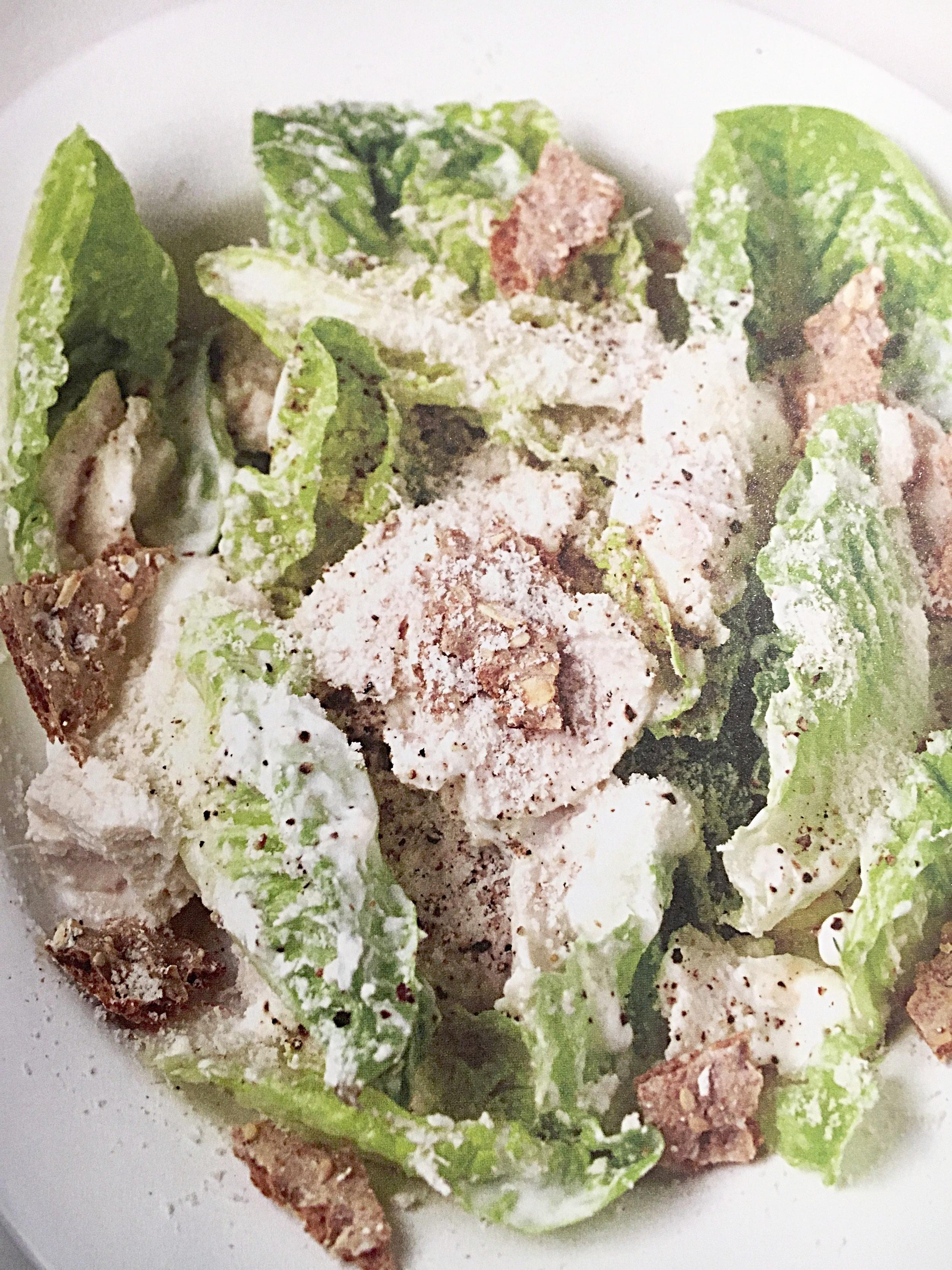Caesar Salad - Prep Time: 10 minsCook Time: 10 mins