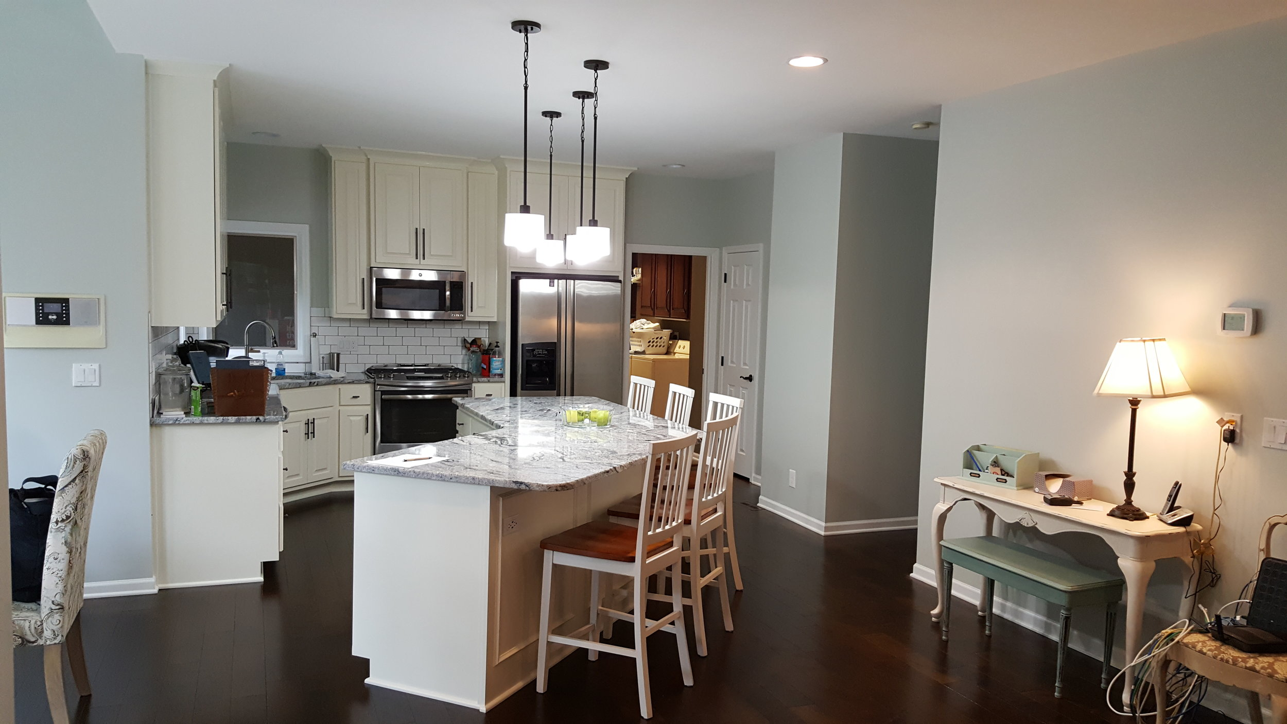 2016 KC NARI Silver Award Winner Residential Kitchen $30,000 to $60,000 (after picture)