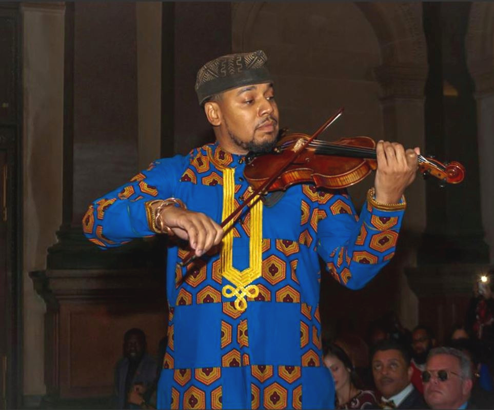 Jack Drummond - Violin - Jack Drummond is a leader, administrator, advisor, adjunct professor (Lincoln University), and violinist. Trained in the public school system, Jack's violin playing has given him the privilege to perform on the streets of Philadelphia and has taken him to places like Carnegie Hall as well as international venues. Through music, he's also been afforded the opportunity to play with greats like Patti Labelle & John Blake, and Thee Phantom. Additionally, Jack is the Directing Manager of his company Collage Of Talent, LLC. - a company geared towards supporting artists and community action.