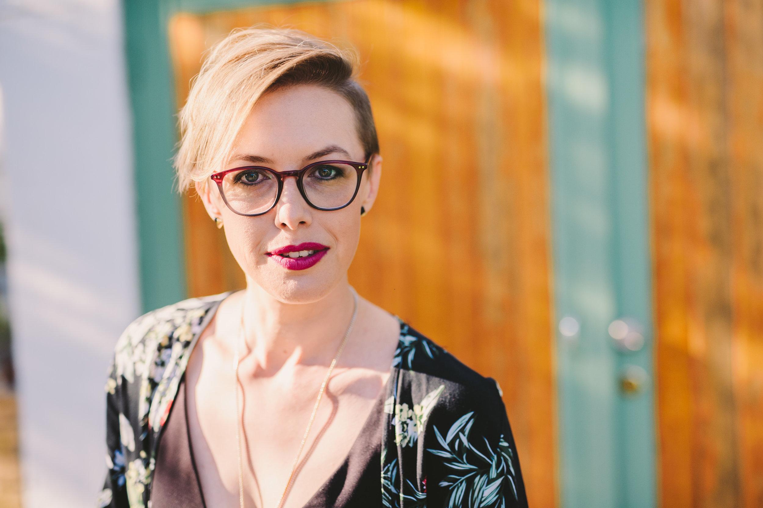 Dr Angela Meyer, author of   A Superior Spectre   .