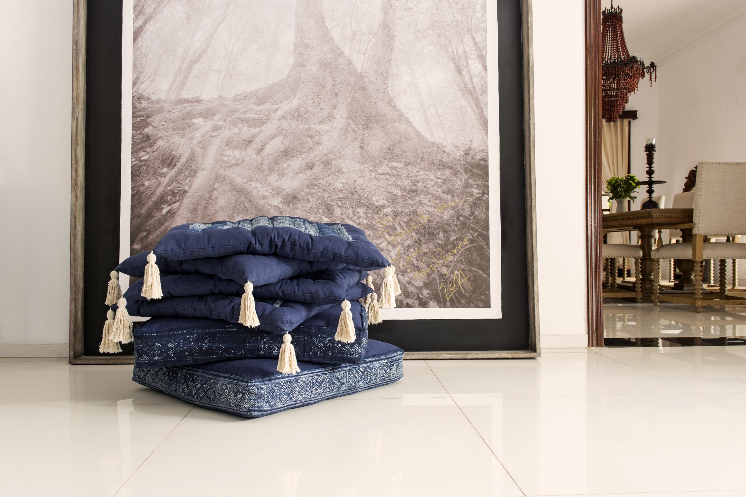 Lily Koi Vintage Indigo Floor Pillow 2.jpg
