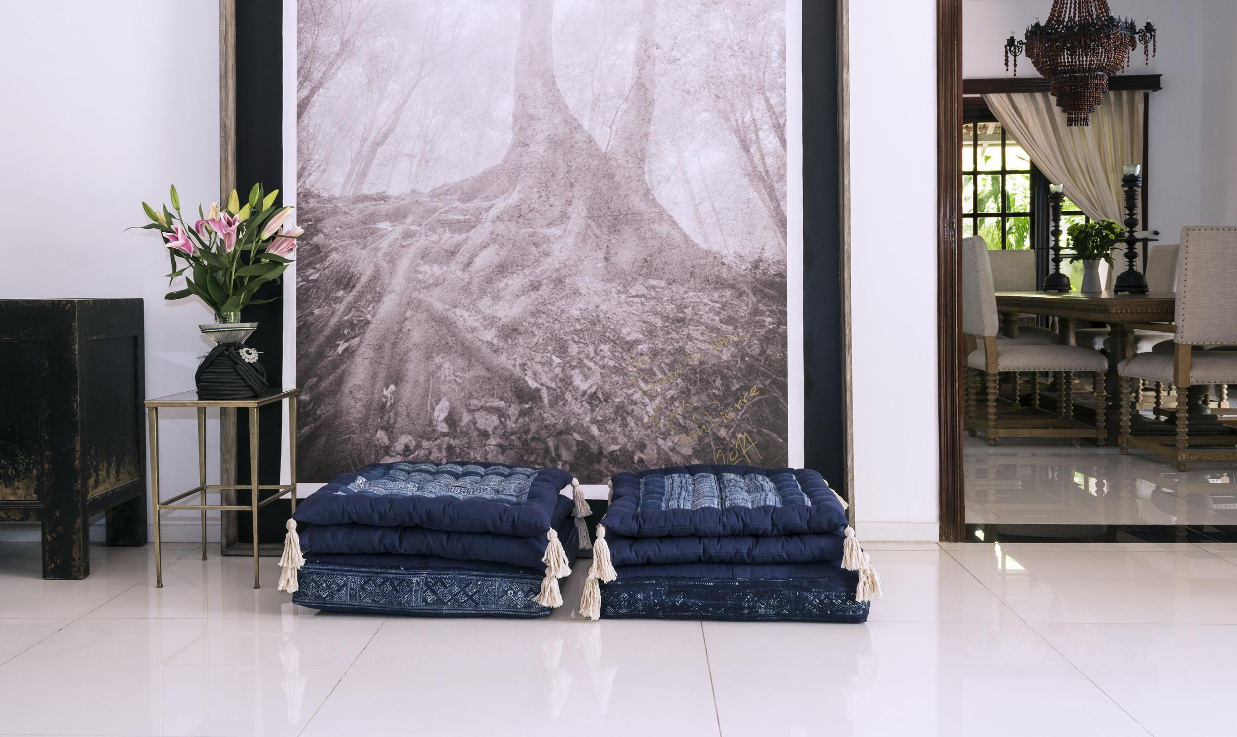 Lily Koi Vintage Indigo Floor Pillow 3.jpg