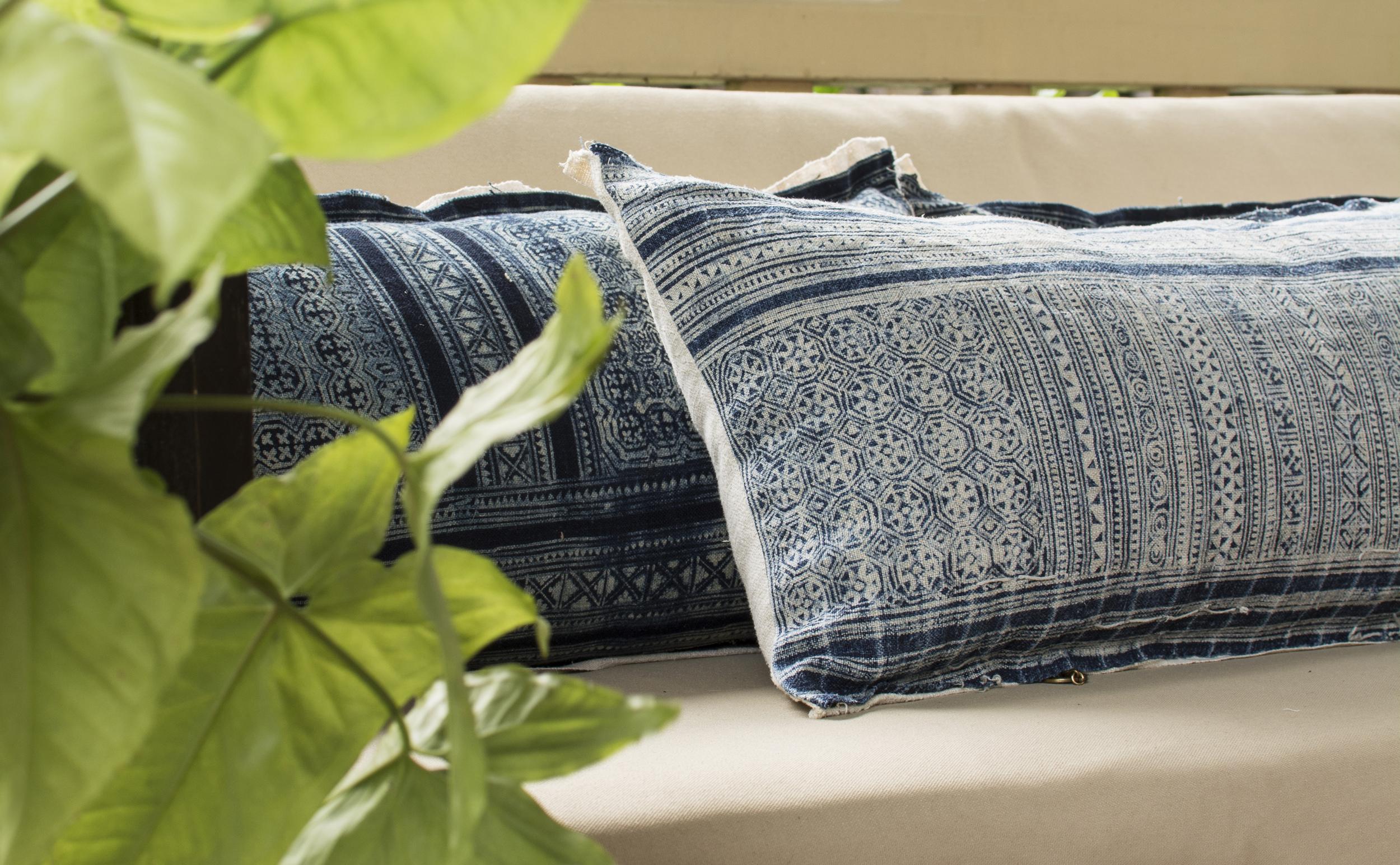 Lily Koi Vintage Indigo Ercu Pillow 7.jpg