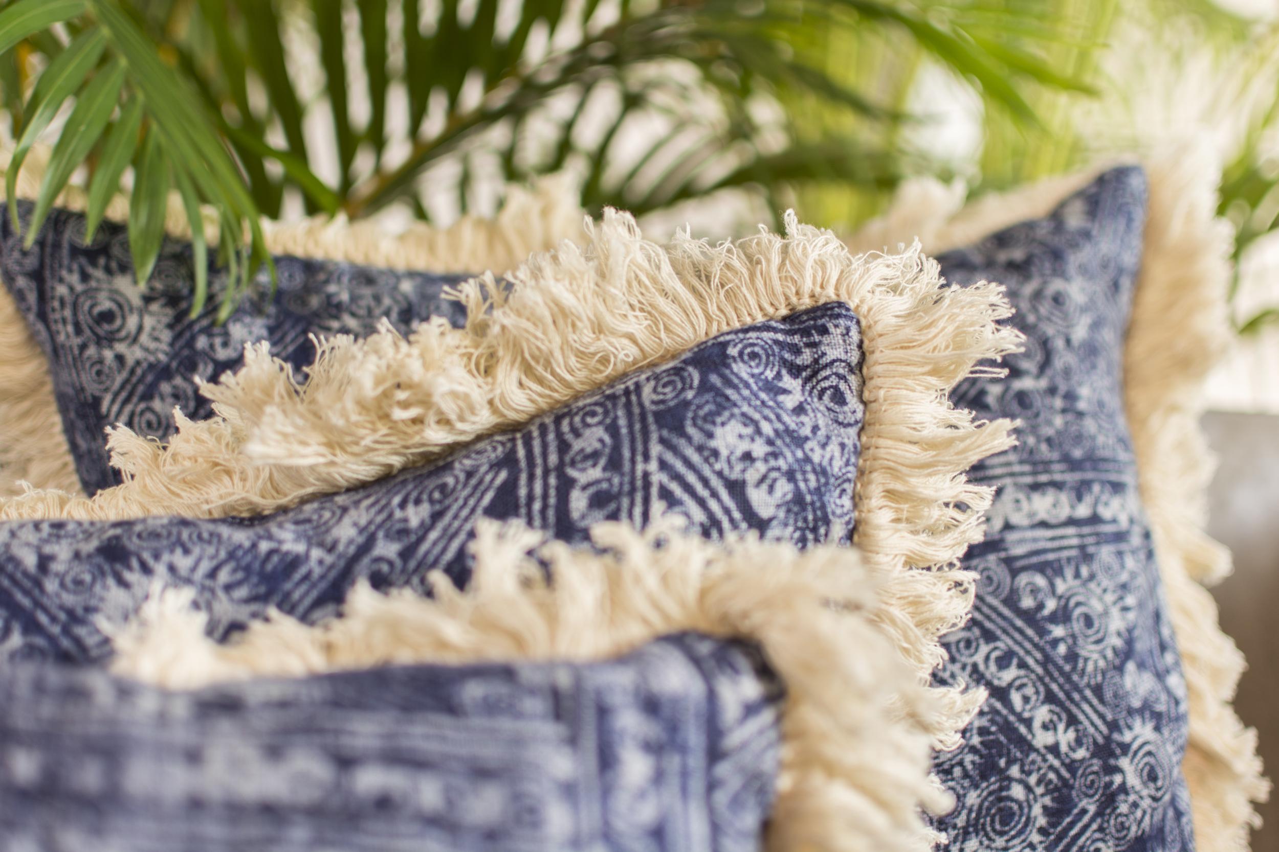 Lily Koi Indigo Fringe Pillow 4.jpg