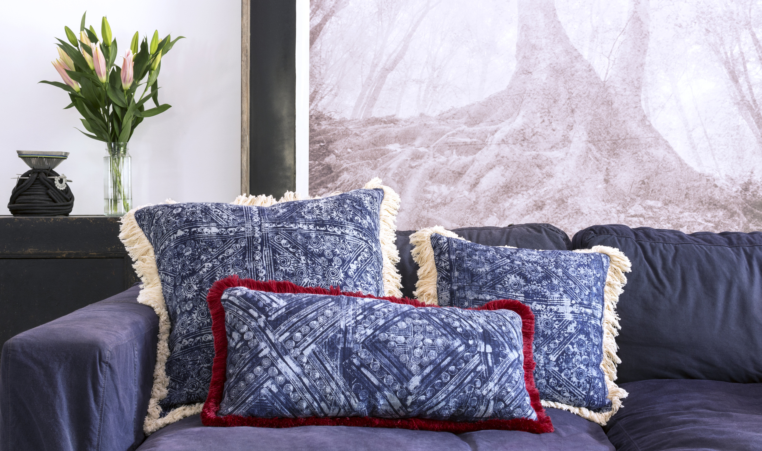 Lily Koi Indigo Fringe Pillow 5.jpg