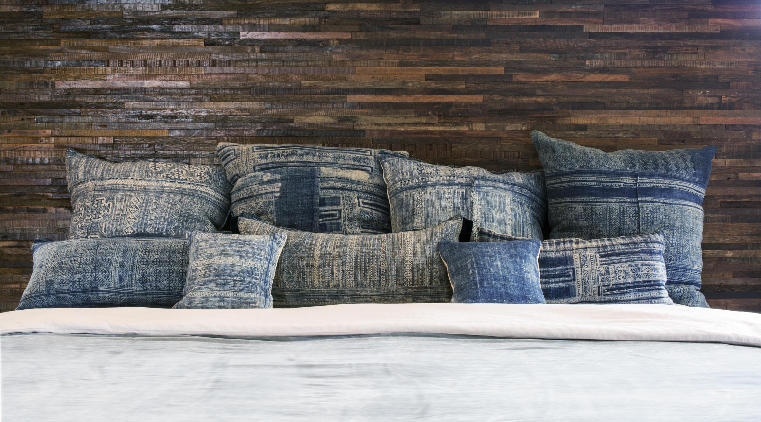 Lily Koi Vintage Indigo Ercu Pillow 3.jpg