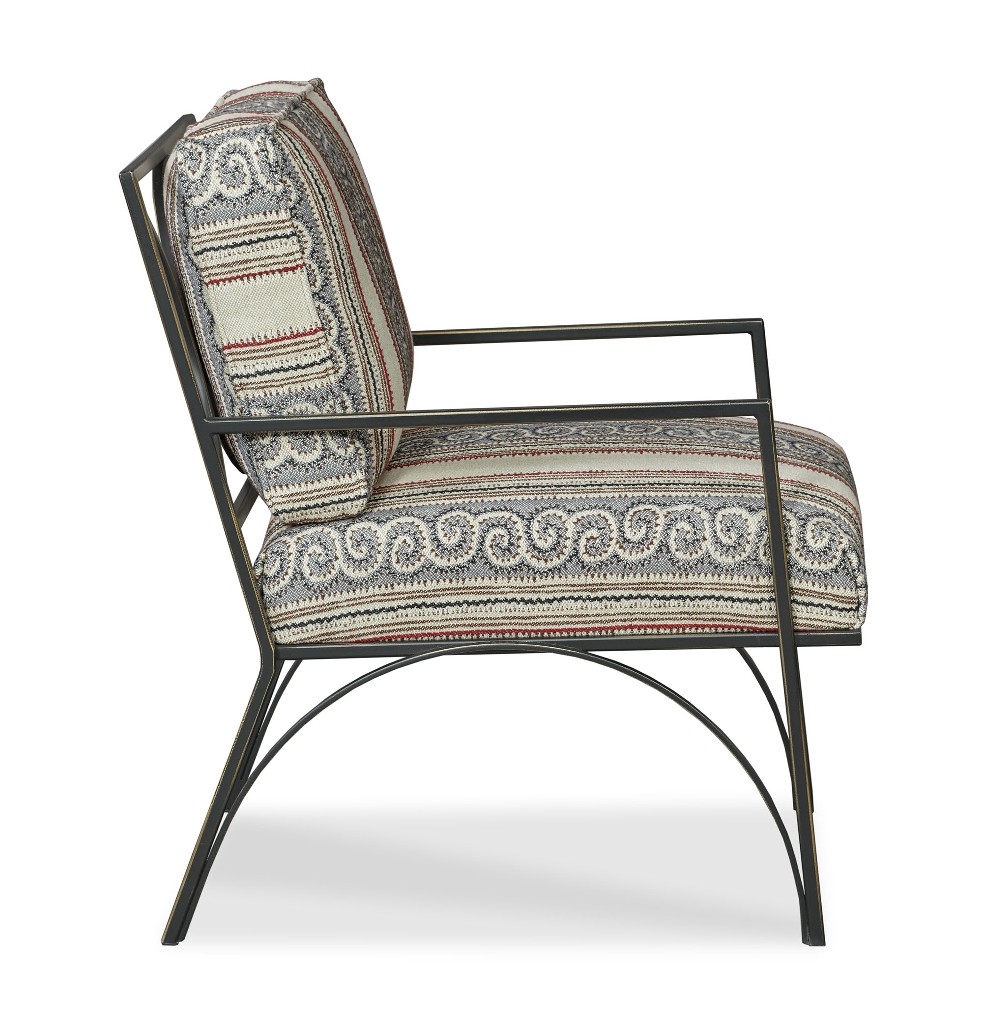 Henry Chair - Generations Fabric - Side