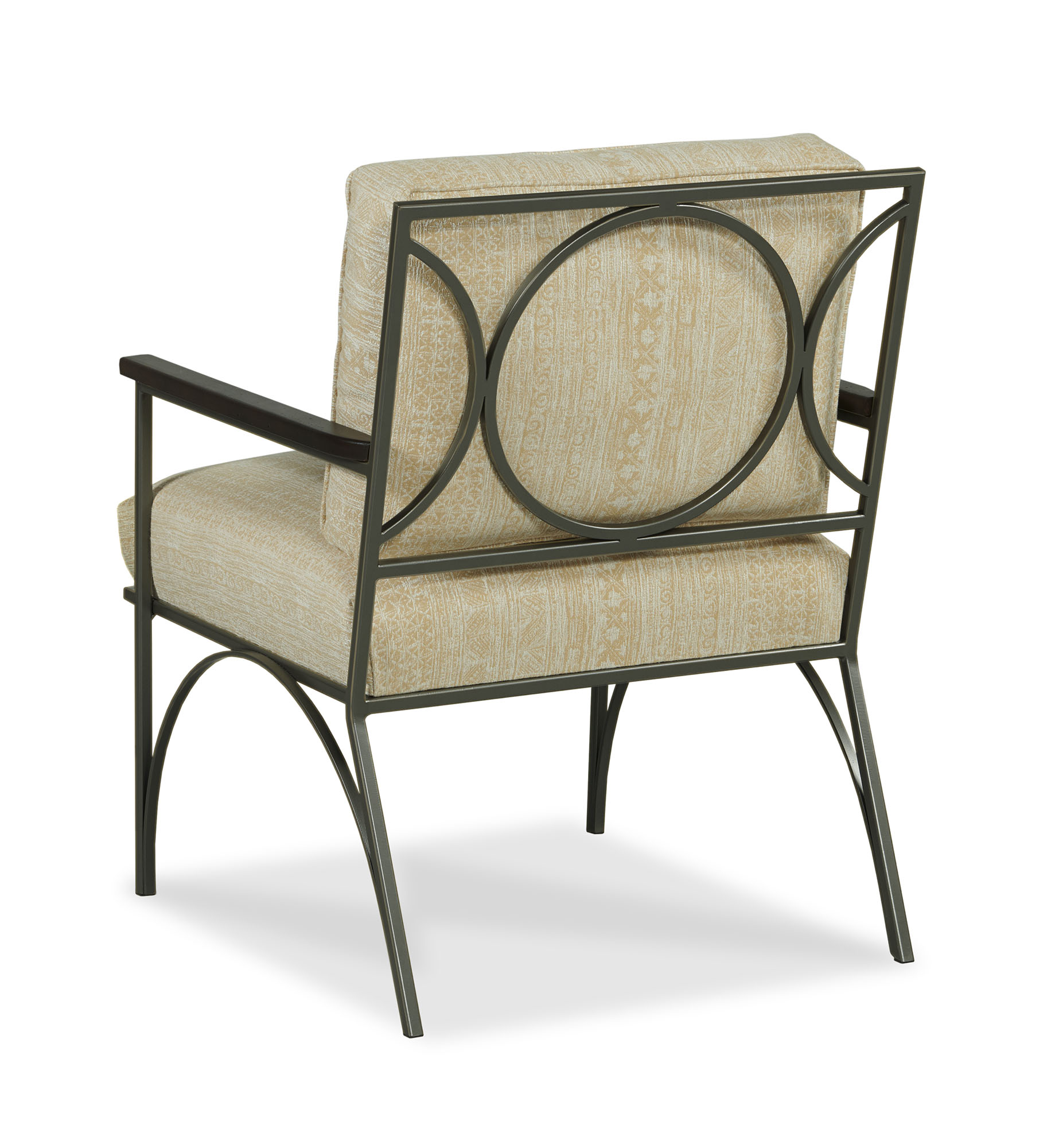 Henry Chair - Golden Indigo - Back