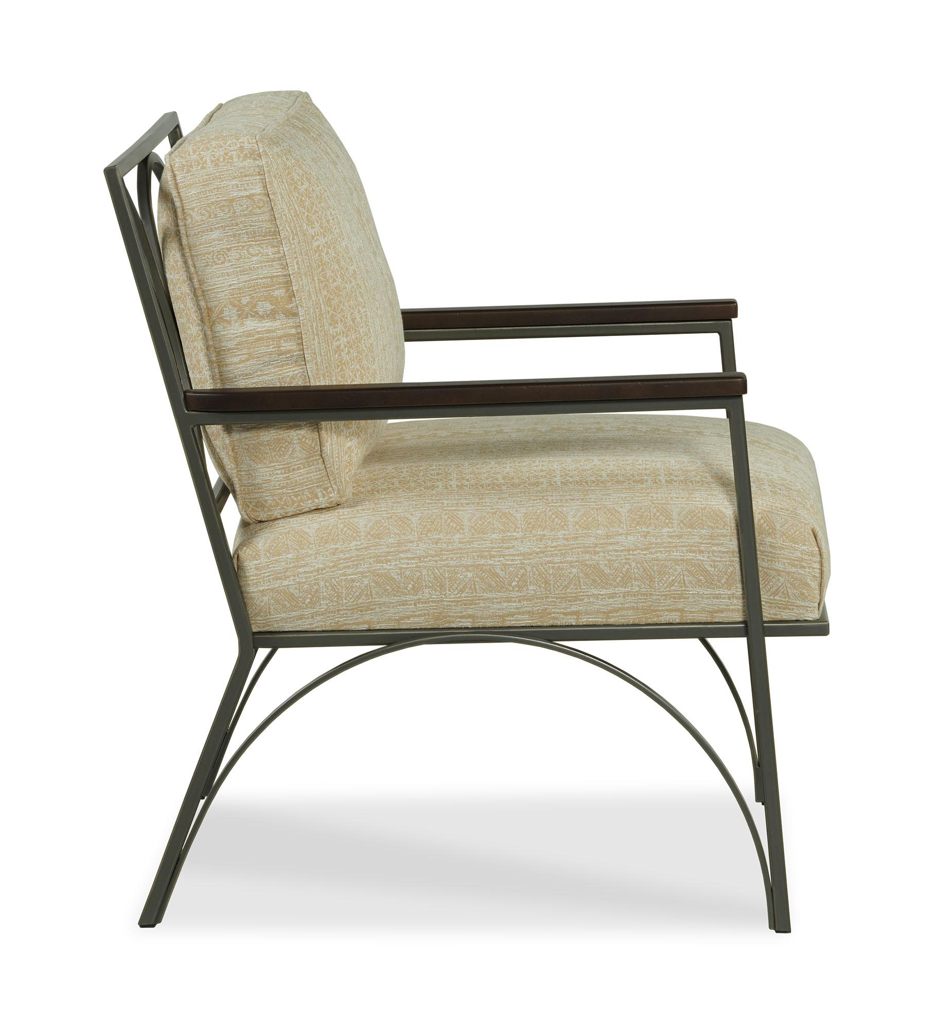 Henry Chair - Golden Indigo - Side