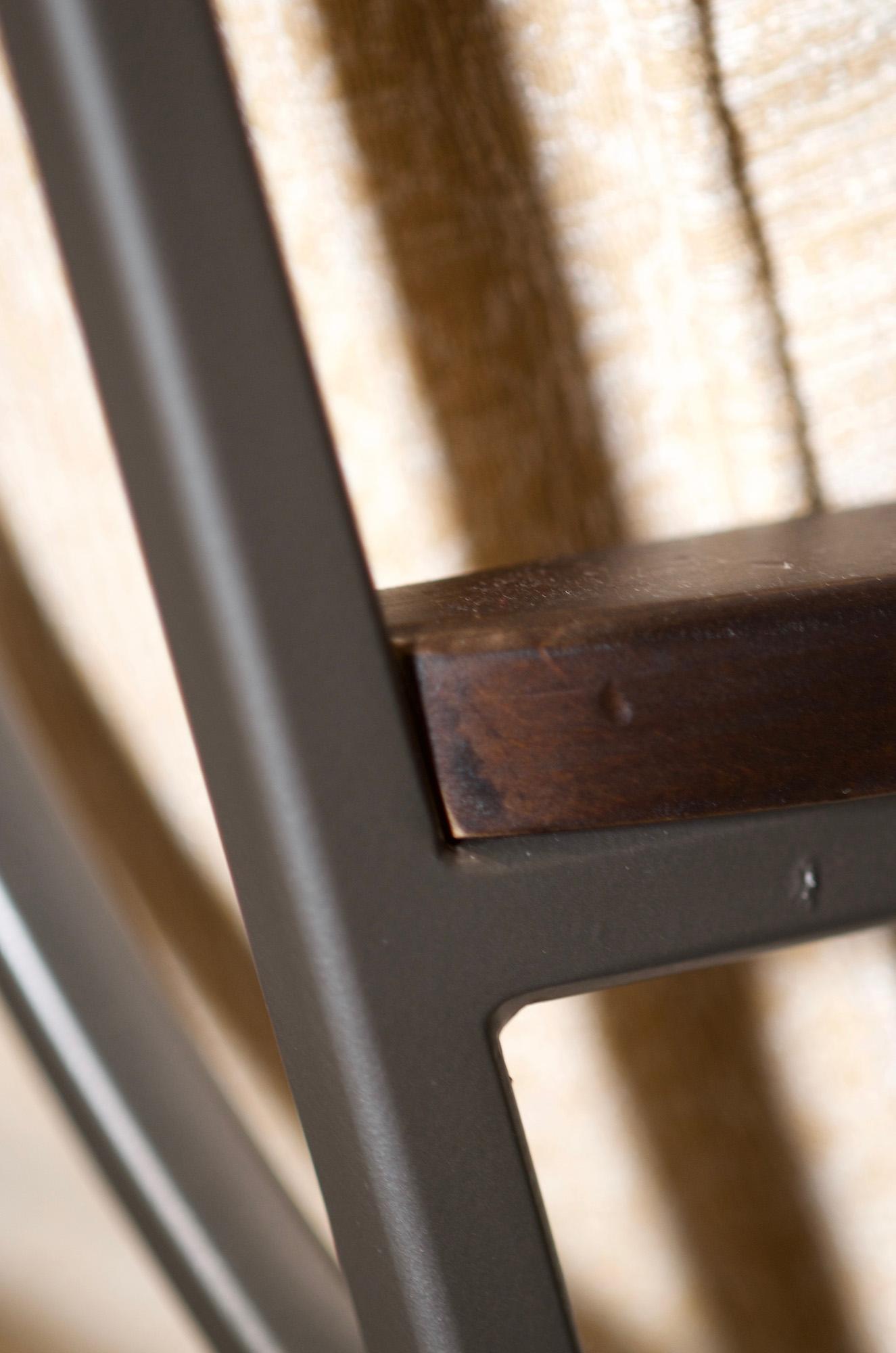 Henry Chair - Golden Indigo - Detail