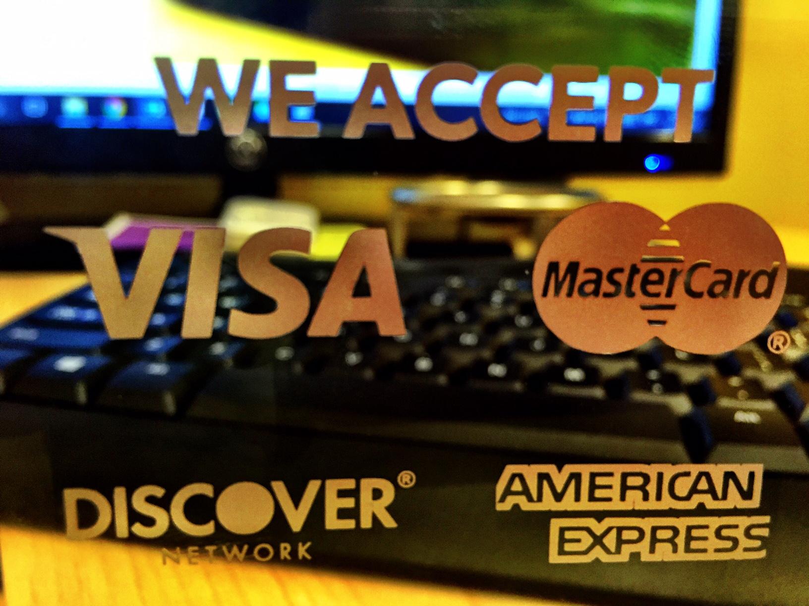 Aceptamos Tarjetas de Credito y plan de pagos!
