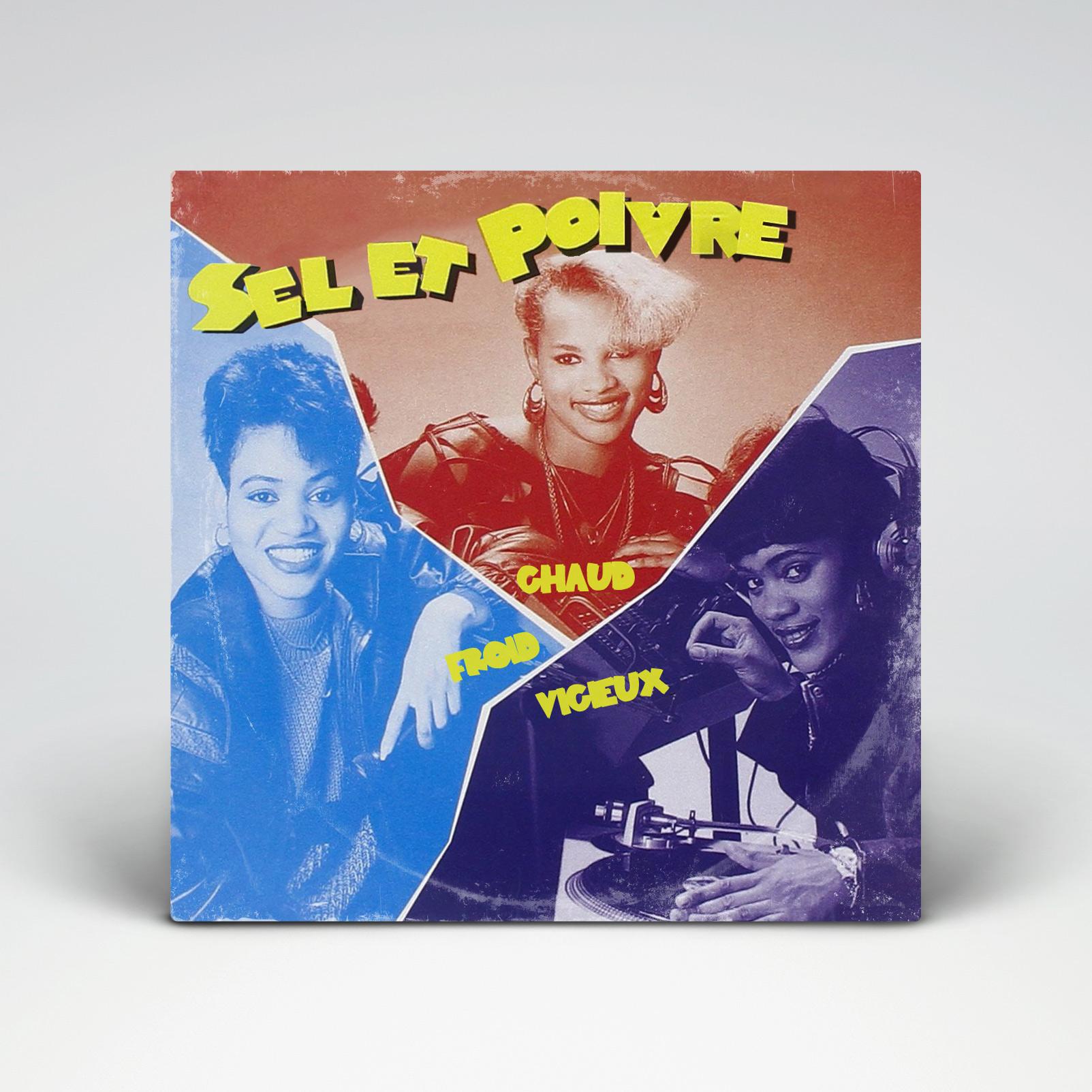 Salt-N-Pepa - Hot, Cool &Vicious (1986)