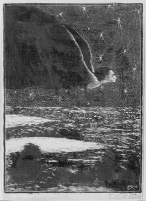 František Kobliha, Upír, z cyklu Pozdě k ránu, 1909-1910
