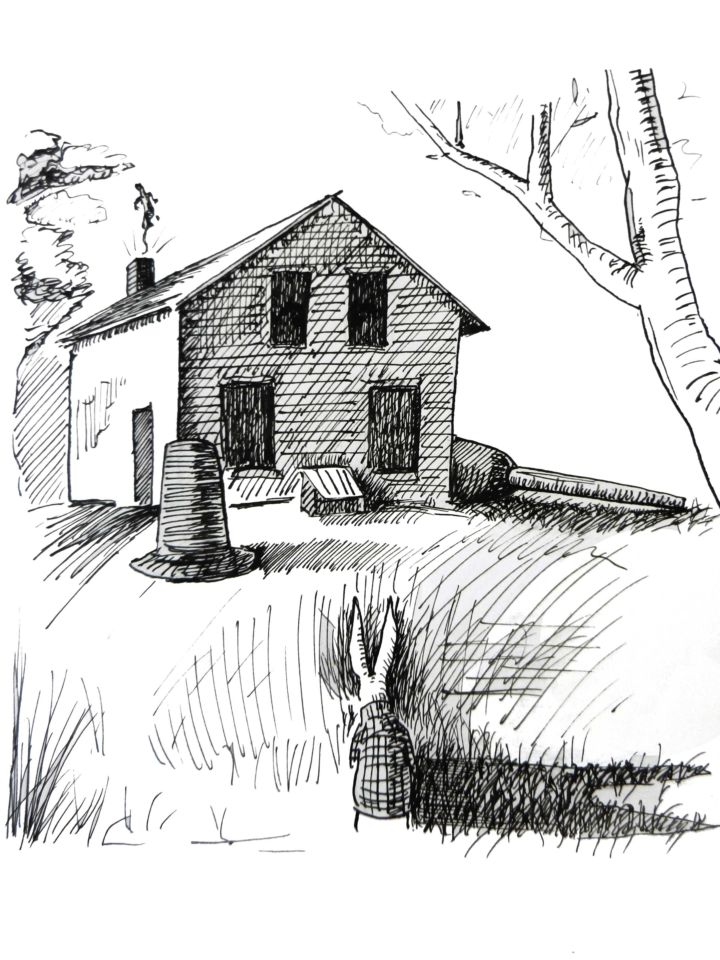 Ahab and the House