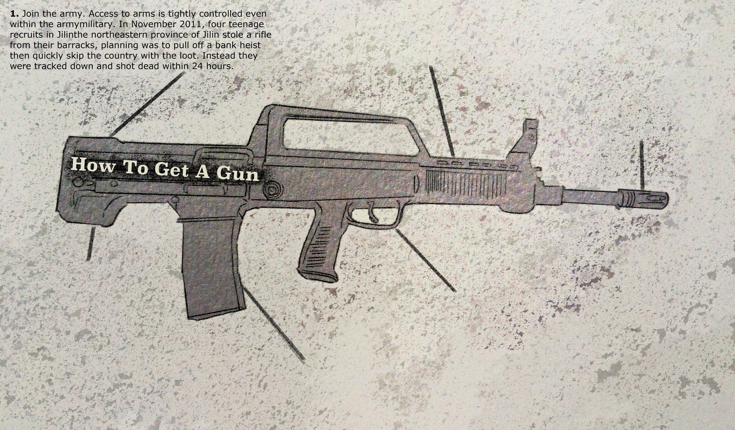 How to Get A Gun