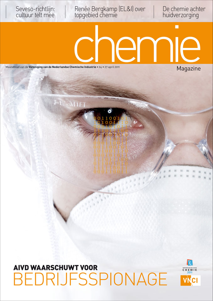 Curve: Cover Chemie-magazine