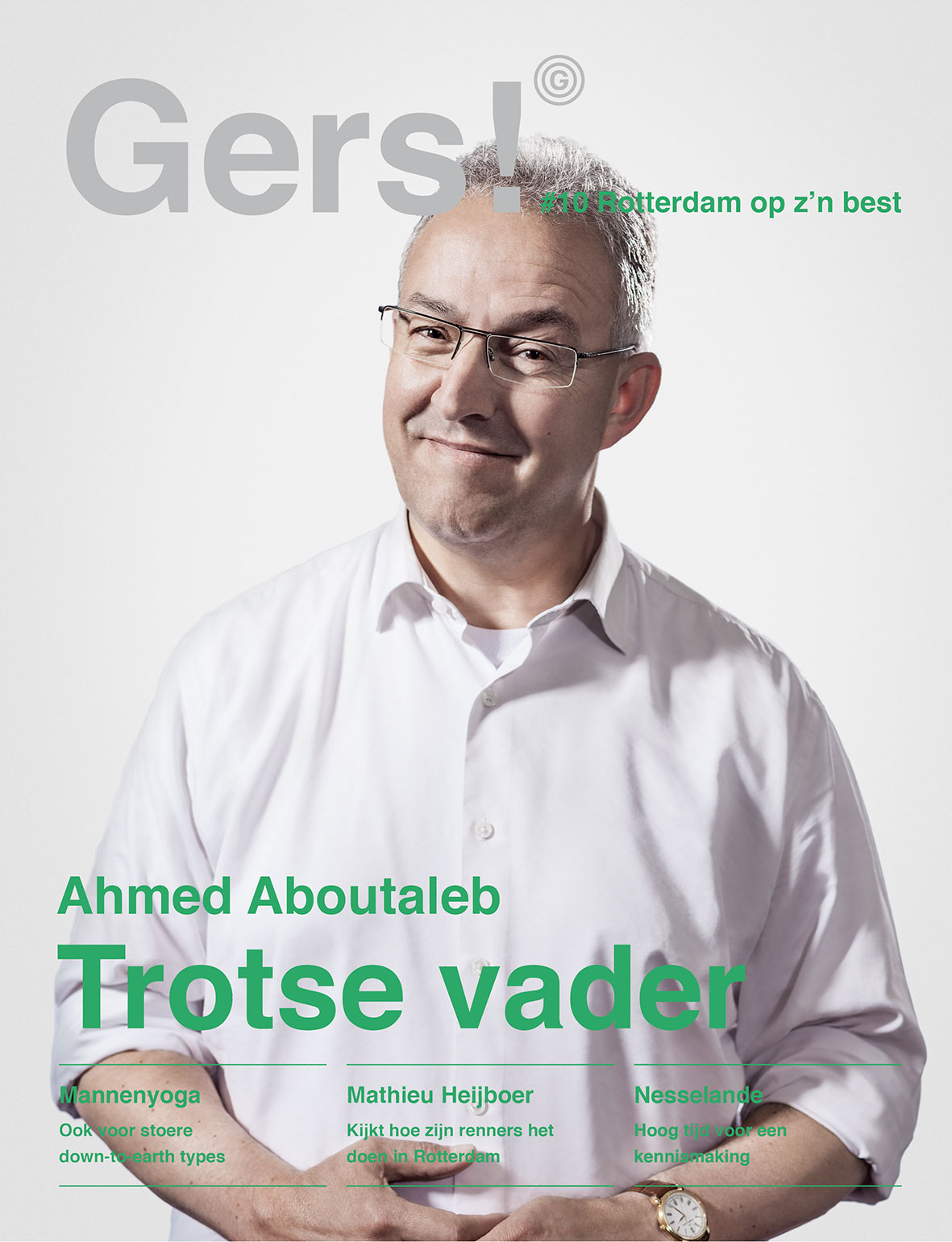 Gers! magazine #10: Cover Ahmed Aboutaleb