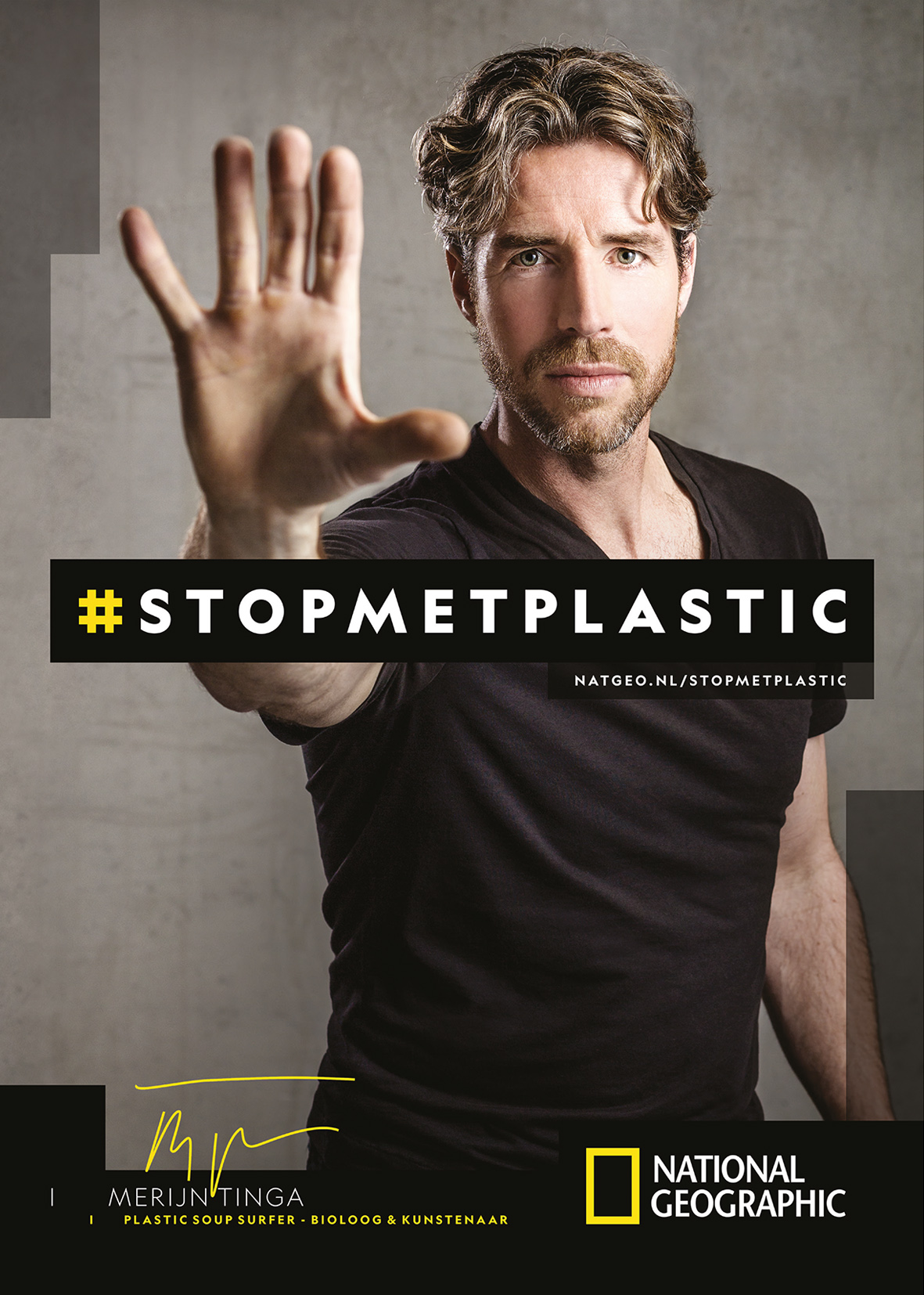 National Geographic: Campagne #STOPMETPLASTIC