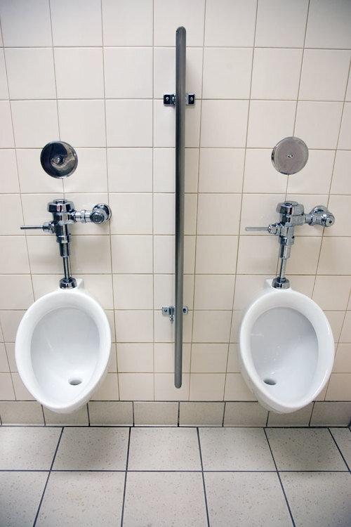 Toiletten USA: Target supermarket, Visalia