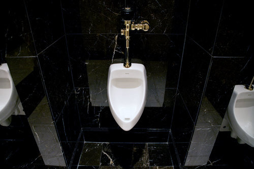 Toiletten USA: The Trump building, Las Vegas