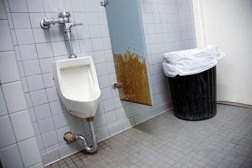 Toiletten USA: Beach R.V. park, Malibu