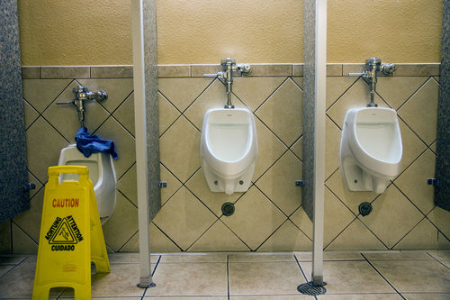 Toiletten USA: Statosphere casino, Las Vegas