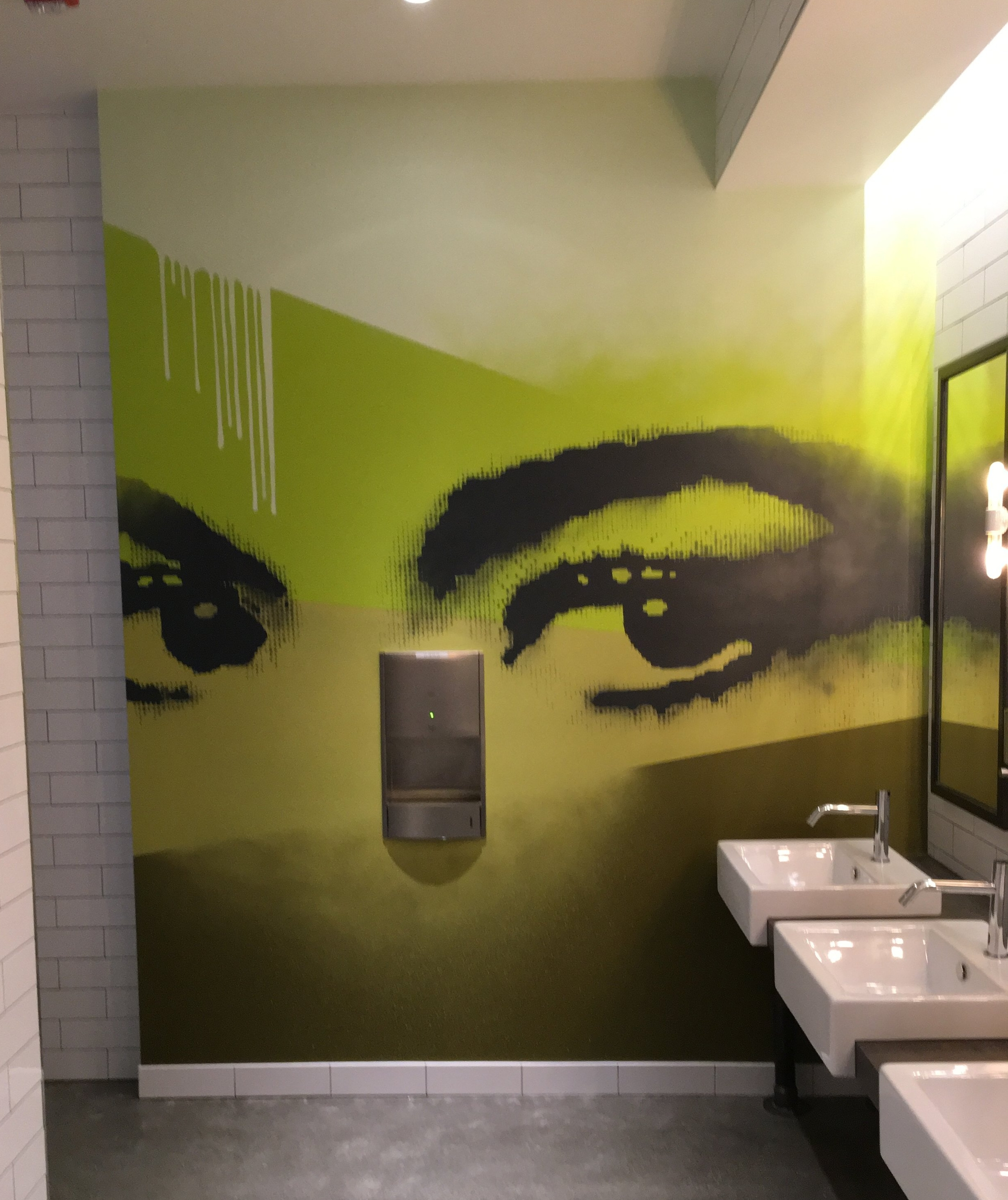 Strider Patton - Office mural - San Francisco, CA 2016