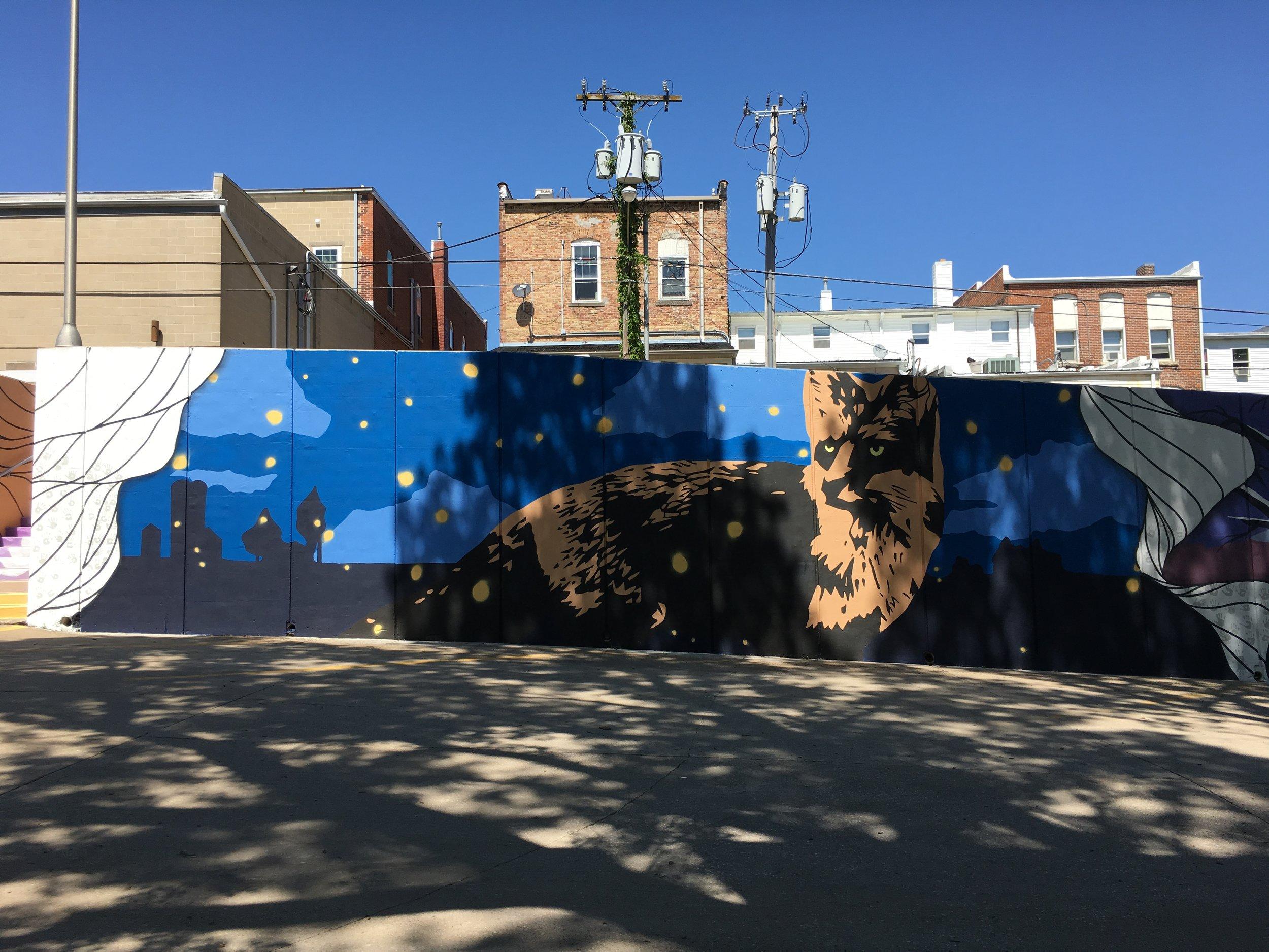 Strider Patton - Mt. Vernon, IA Community Mural Project