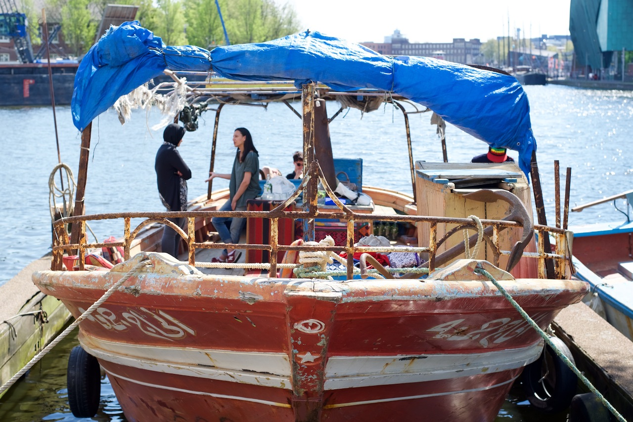 Mr. Friday refugee boat transported 282 people from Egypt to Italy in 2013.