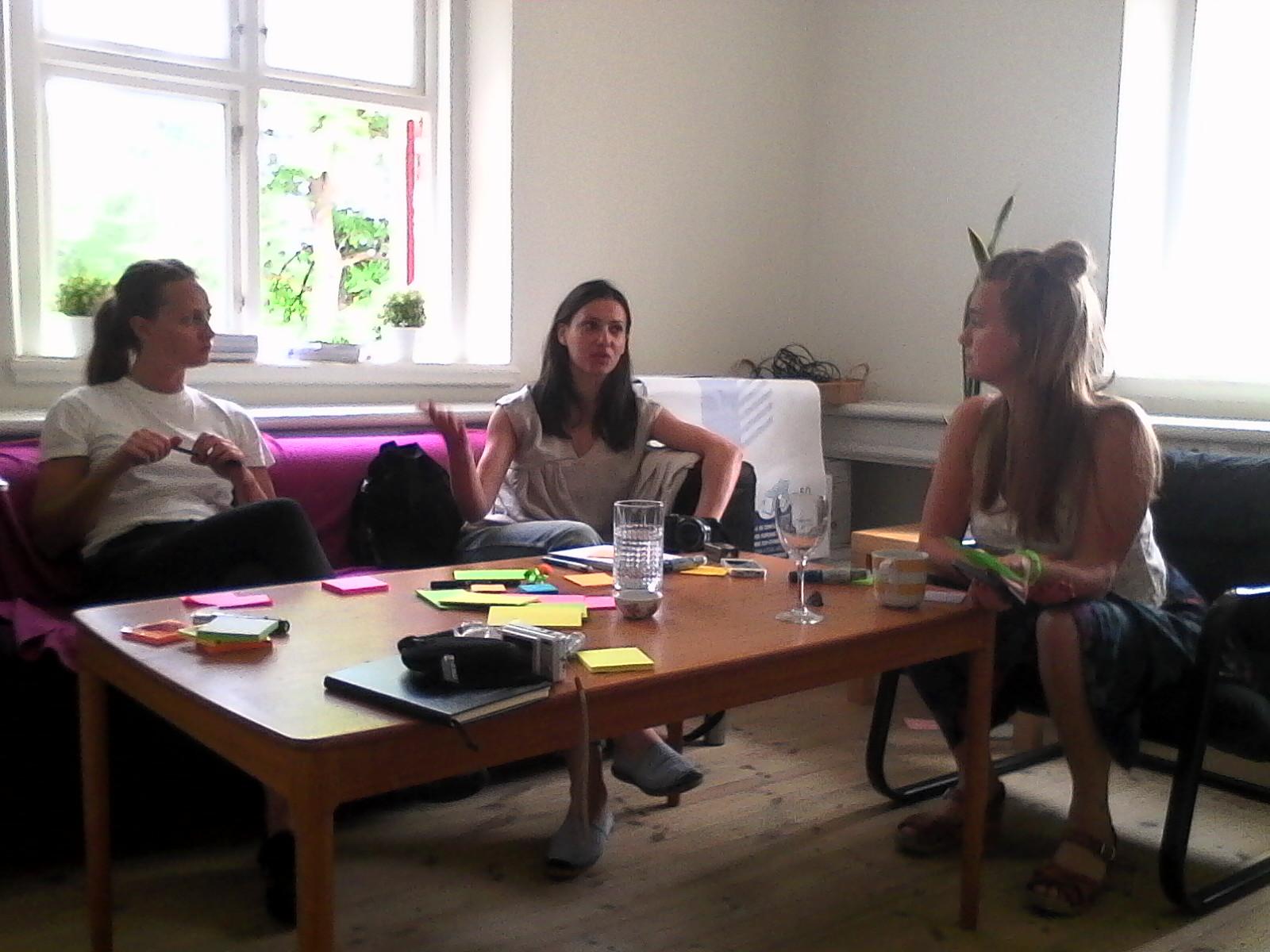 With Ida Lemoine,Beteendelabbet & Sandra Kinnaman Nordström, The Good Tribe.