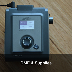 Respiratory DME and Supplies