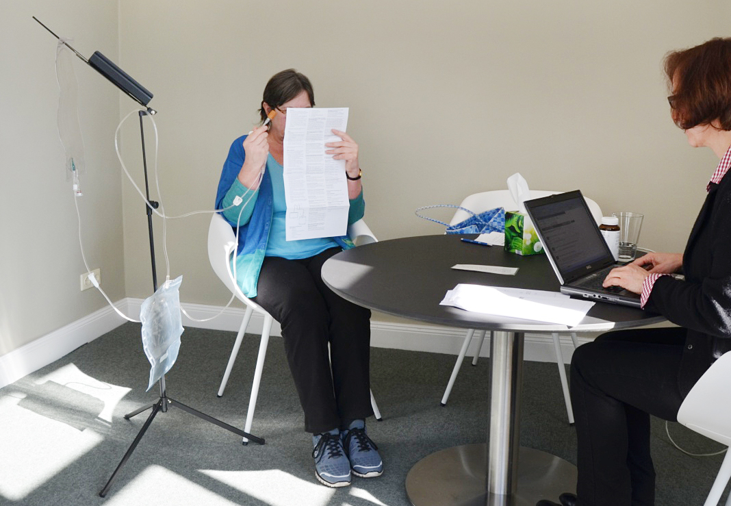 Usability test for medicinal products