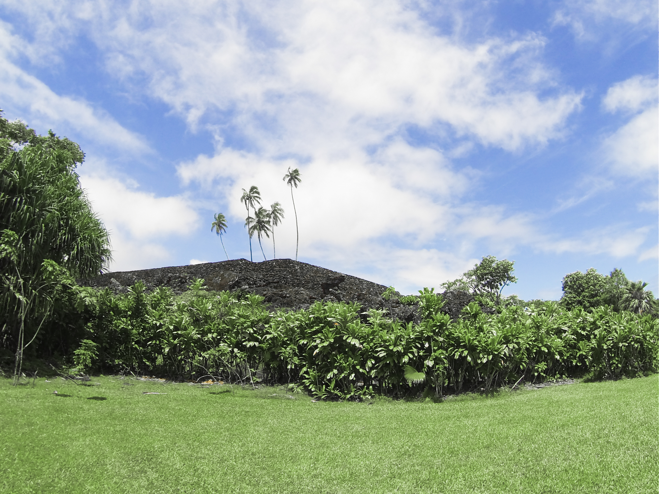 Pi`ilanihale Heiau , hawaii's oldest ancient worship site.