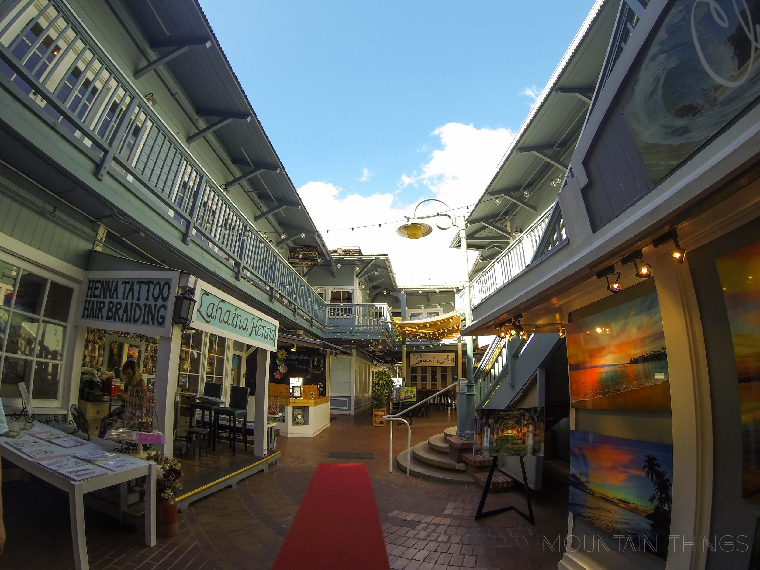 I was taken aback by the number of art galleries in Lahaina, even though inspiration isn't hard to come by.