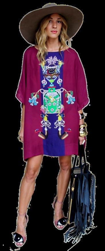 Marina Dobreva at Coachella