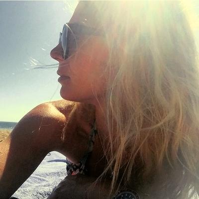 Natural Healthy Beach Hair