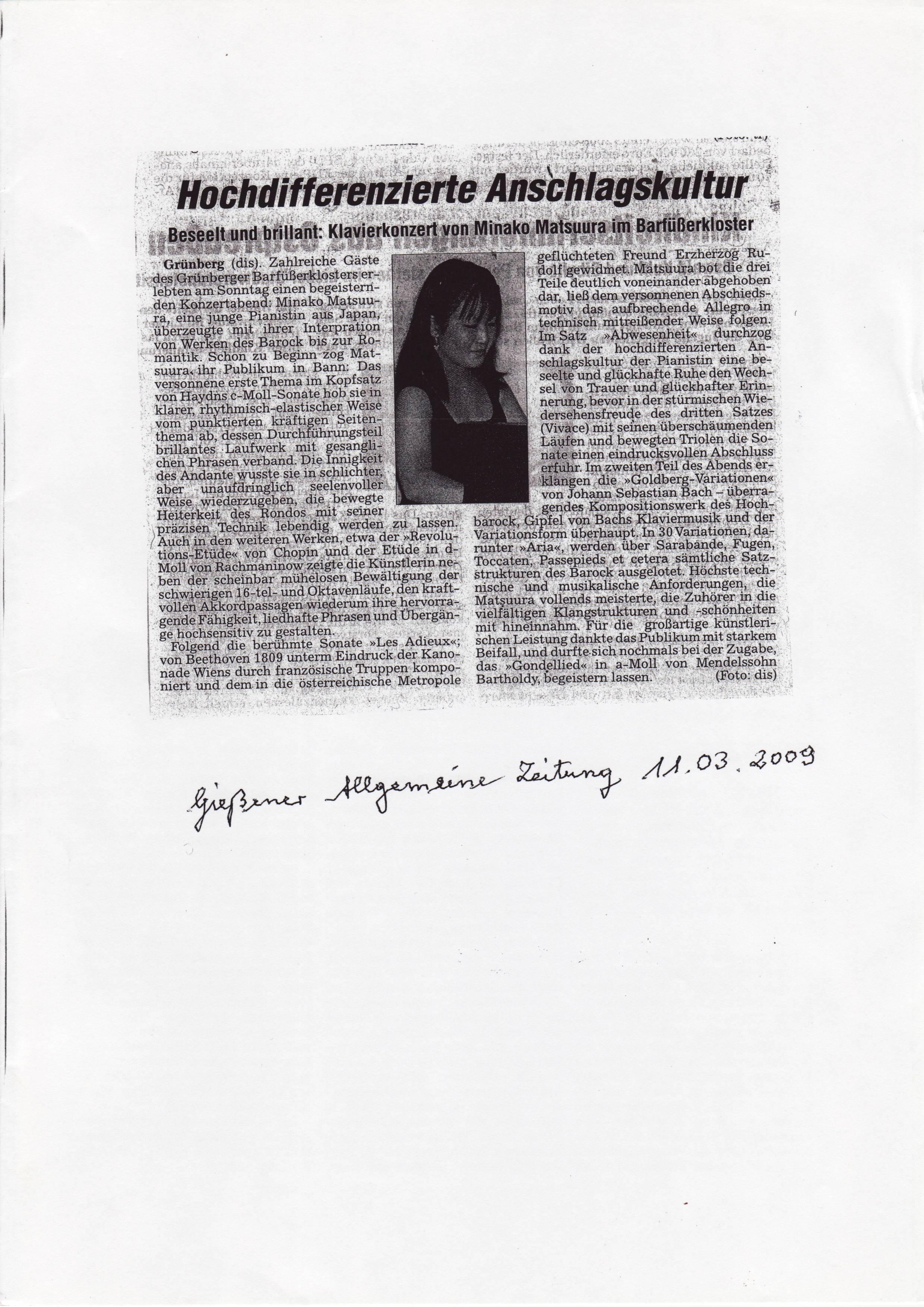 Giessener Allgemeine Zeitung 11.3.09.JPG