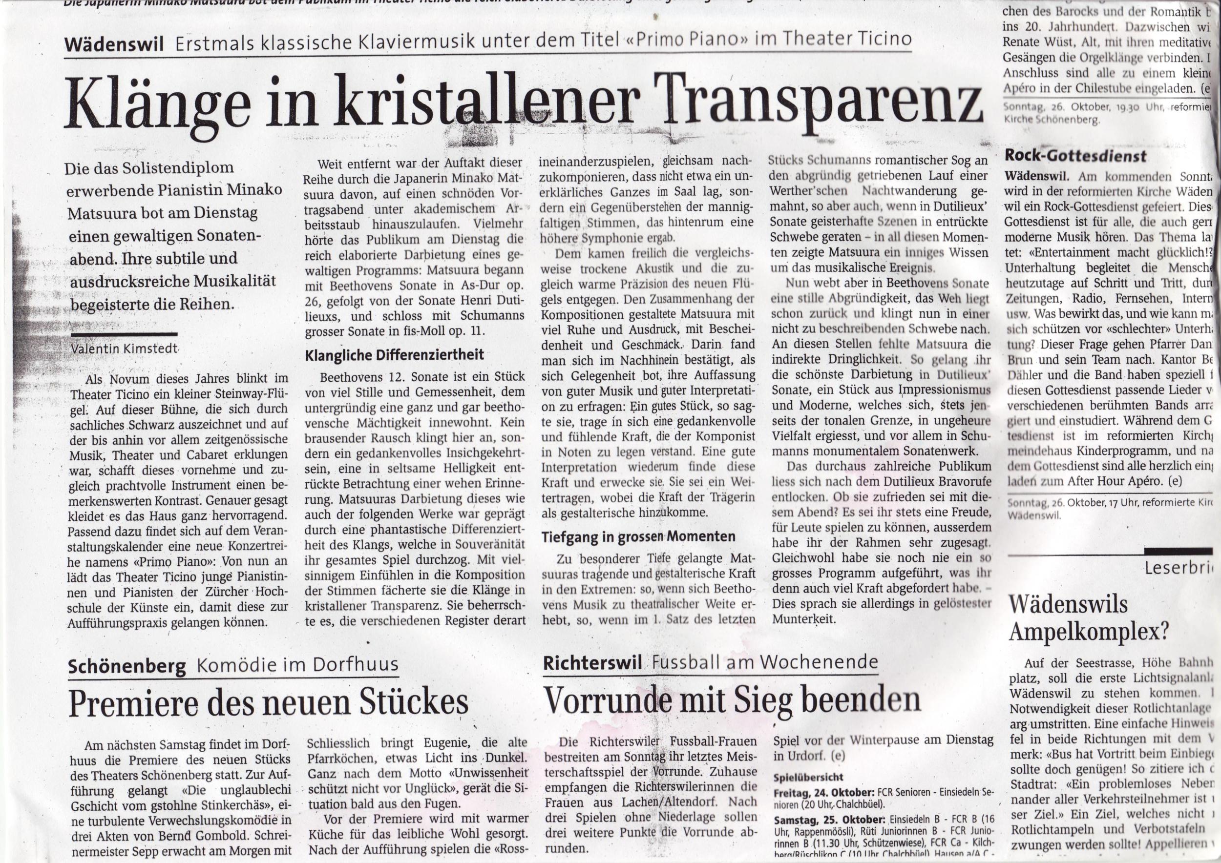 Zürichsee Zeitung 23.Oktober 2008 (Text).jpg