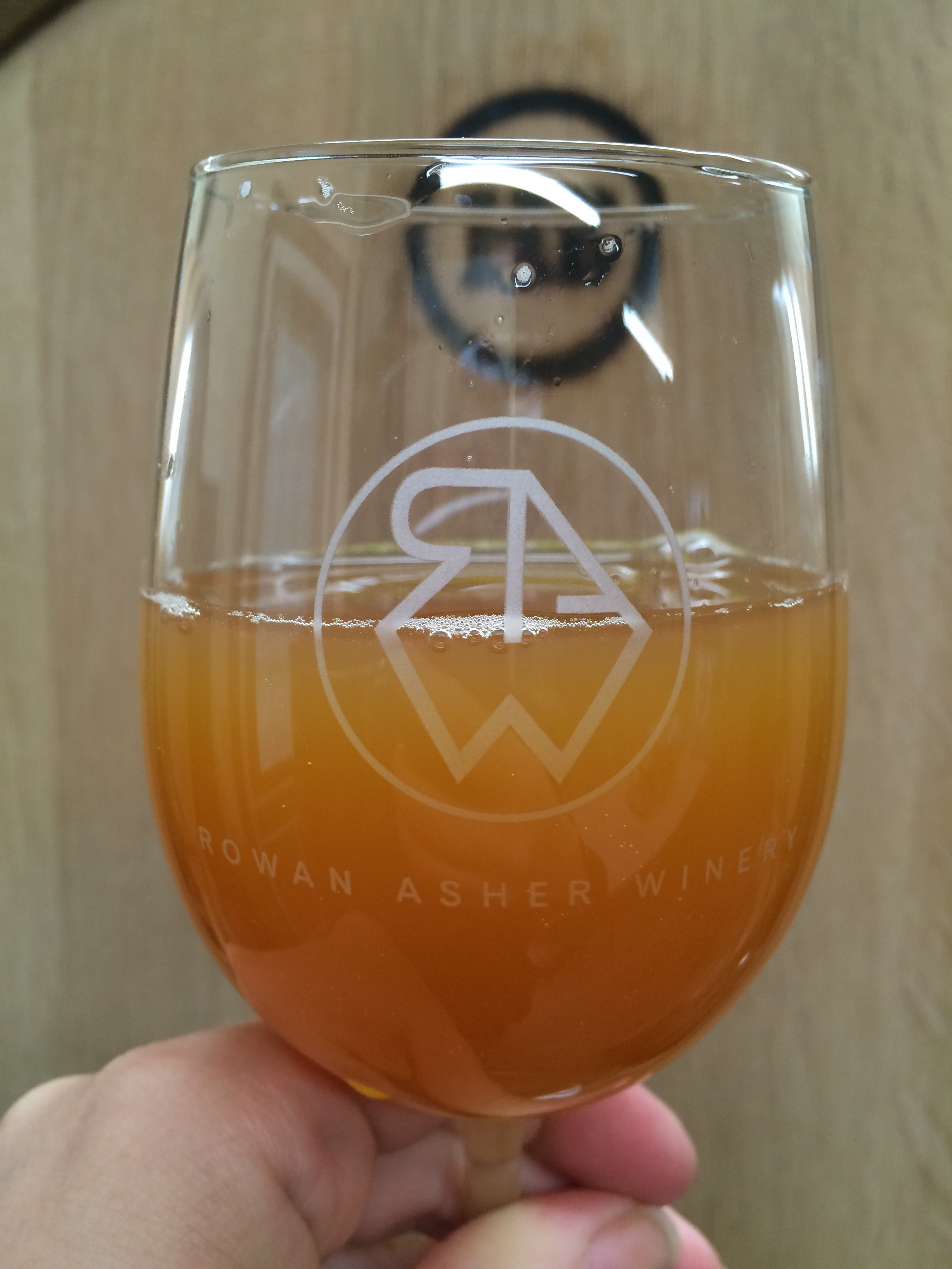 A young hard cider from Rowan Asher Winery & Hard Cidery