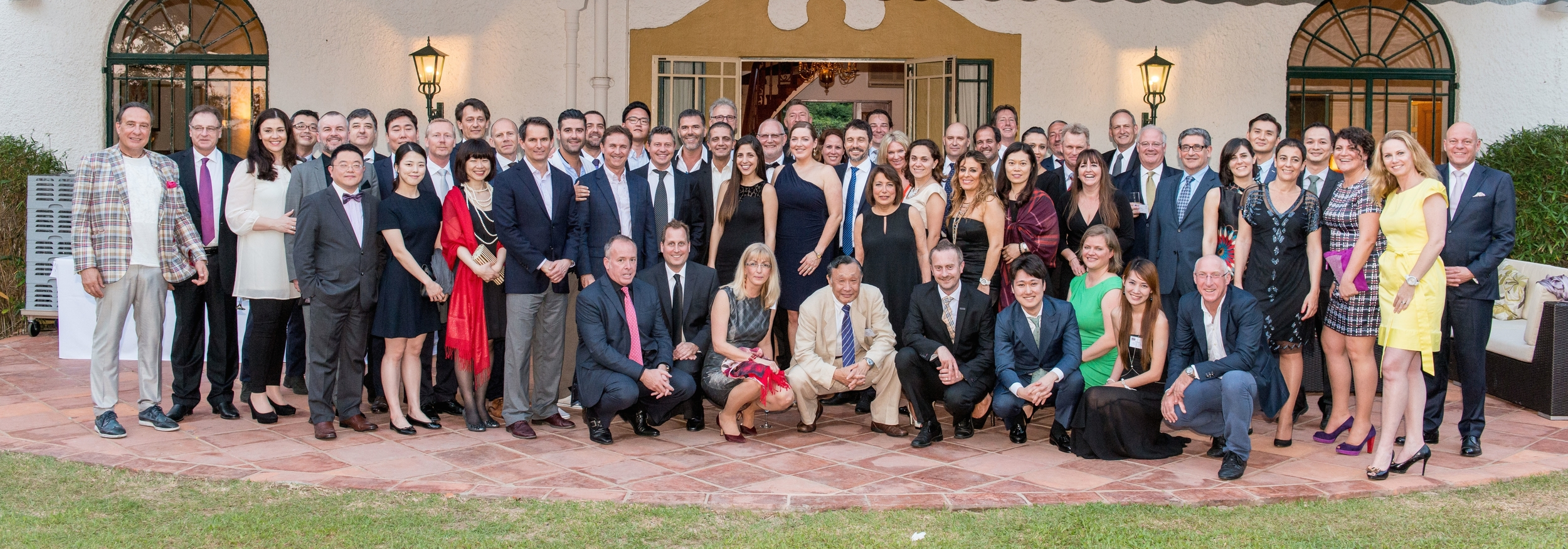 Members of the 52 country IGC Global Promo8ons Alliance at the Residence of the Consul General of the Kingdom of the Netherlands, Hong Kong, China