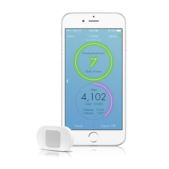 Lumo Lift Posture Coach & Activity Tracker